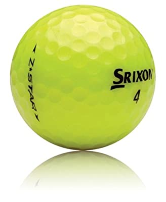 36 Srixon YELLOW MIX AAA/GOOD Used Golf Balls