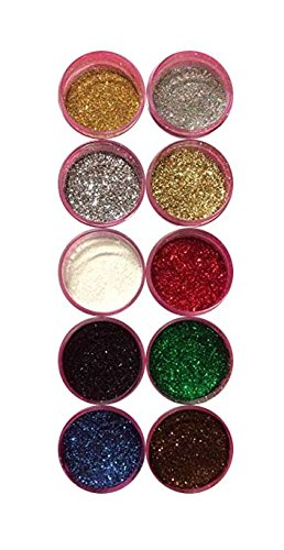 - Disco Cake MERRY CHRISTMAS (10 colors) 5 GRAMS EACH CONTAINER, for cakes, cupcakes, fondant, decorating, cake pops By Oh! Sweet Art