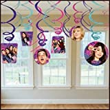iCarly Hanging Swirl Decorations (12pc)