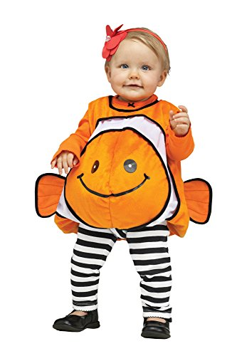 Giddy Goldfish Infant Toddler Costume (Orange) (Infant Goldfish Costume)