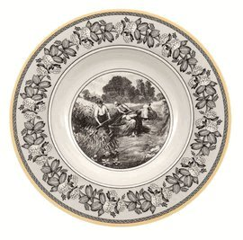 Villeroy & Boch Matches (Villeroy and Boch Audun Ferme Rim Soup 9 1/2 in.)