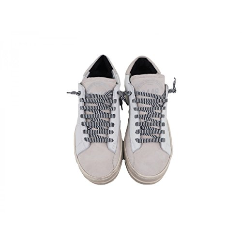 Blanc Bianco Femme P448 Baskets Pour UfqwIgBxt