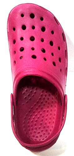 DEMA pantofole ciabatte donna in GOMMA mod. CROCS lampone