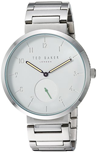 Ted Baker Men's 'JOSH' Quartz Stainless Steel Casual Watch, Color:Silver-Toned (Model: TE50011010)