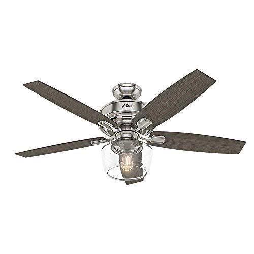 Hunter Fan Company 54188 Ceiling Fan, Large, Brushed Nickel