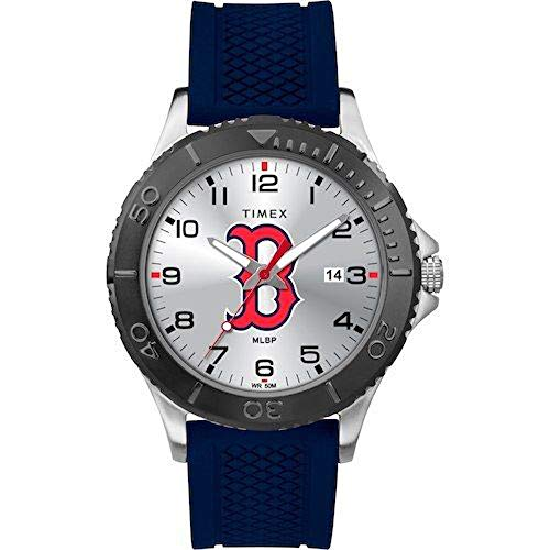 Timex MLB Tribute Collection Gamer Blue Men's Watch - Boston Red Sox