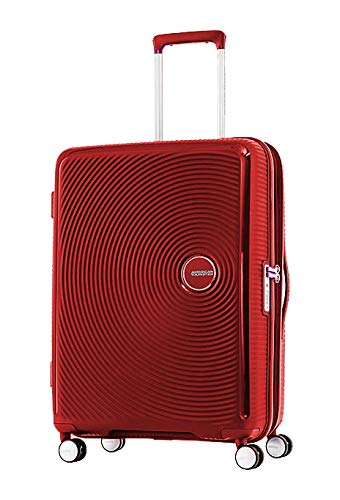 d6f276798e966 American Tourister Luggage Trolley Bags Unisex-Red