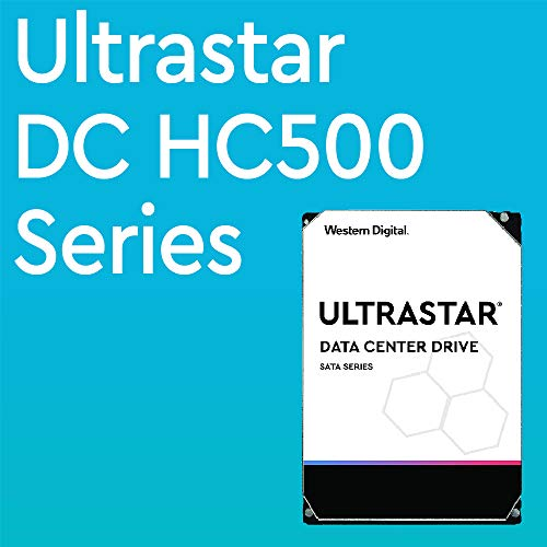 Western Digital Ultrastar DC HC530 HDD 14TB 7.2k RPM SATA 6Gb/s 512MB Cache 3.5-Inch Enterprise Data Center Hard Drive | WUH721414ALE6L4 | Bundle with COMPATILY Aluminum Screw Driver Kit by Western Digital (Image #1)