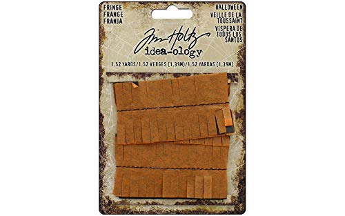 Tim Holtz Fringe Halloween, Paper Orange, 13.5 x 10 x 0.4 cm]()