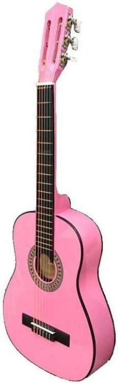 Guitarra rocio c6n (1/4) cadete 75 cms rosa