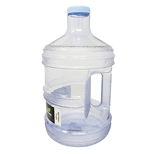 1 Gallon Leak-Proof BPA Free Reusable Plastic Drinking Water