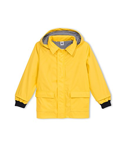 Petit Bateau Baby Girls' Rain Coat, Yellow, 18 Months