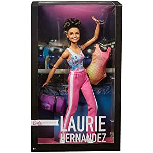 Barbie Signature Laurie Hernandez 2016 Olympic Winner Gymnast Doll - Limited Edition!