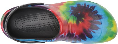 Adulto U Unisex Clog Graphic Crocs Multicolor multi black Zuecos Bistro xfTqYnEnt