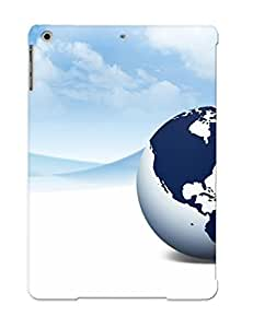 lintao diy Defender Case With Nice Appearance (globe) For Ipad Air / Gift For New Year's Day