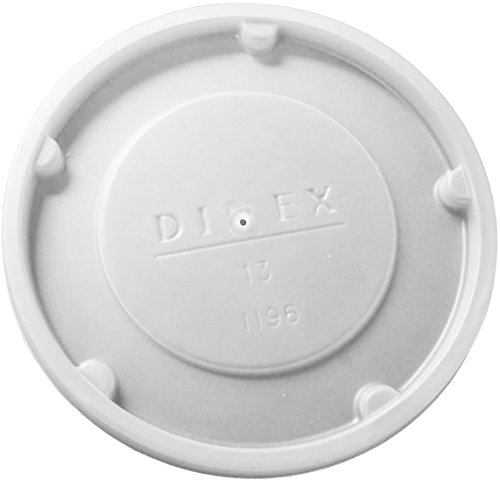 Pack of1000 Clear Dinex DX11928714 Polystyrene Disposable Lid 2.625 Width 2.625 Length Translucent 2-39//64 Diameter for Insulated Juice Cup 8 Height