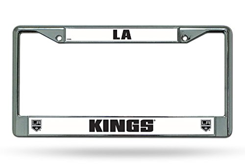 Hall of Fame Memorabilia Los Angeles Kings Chrome License Plate Frame
