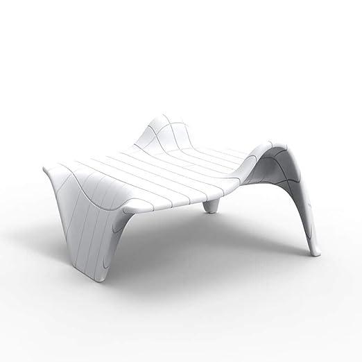 Vondom F3 mesa baja de exterior blanco: Amazon.es: Jardín
