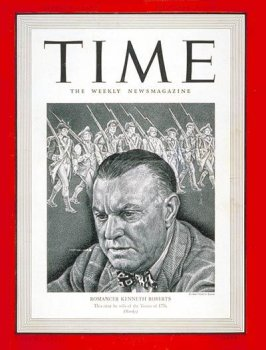 Kenneth Roberts / Time Cover: November 25, 1940, Art Poster by Time Magazine