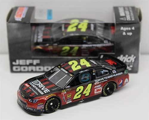 Lionel Racing C245865EHJG Jeff Gordon #24 AARP/Drive to End Hunger 2015 Chevy SS 1:64 Scale ARC HT Official NASCAR Diecast (Jeff Gordon Diecast)
