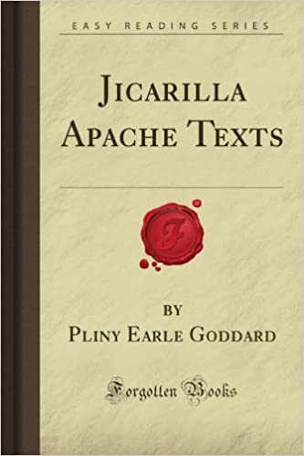 Jicarilla Apache Texts (Forgotten Books) by Pliny Earle Goddard (2008-02-13)