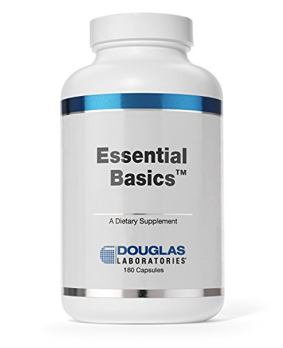 Douglas Laboratories - Essential Basics - Comprehensive, Highly Concentrated Vitamin/Mineral/Trace Element Supplement - 180 Capsules