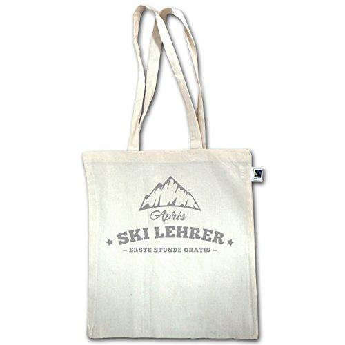 Après Ski - Après Ski Lehrer - Unisize - Natural - XT600 - Jutebeutel lange Henkel syf8jiO3U