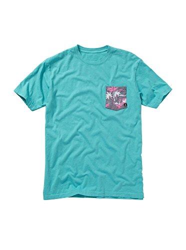 (Quiksilver Men's Mixed Bag T-Shirt, Baltic, Large)