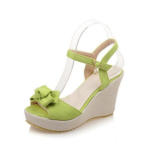Donna Ballerine EU Verde Green 35 AdeeSu zfqgxw5
