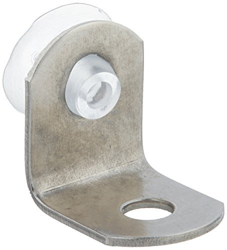 L eDealMax d'angle en Forme de Plateau en verre Cabinet Support/Support d'aspiration, 5 pièces