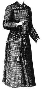 1887 Gentleman's Dressing Gown Pattern