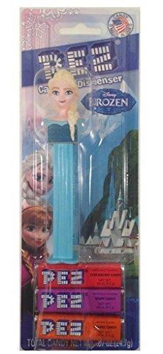 Frozen Elsa Costume Walmart (Pez Candy Dispenser: Disney Frozen Elsa Blister Card)