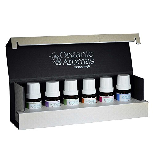 Designer Series Essential Oil Blends Collection by Organic Aromas - Luxury Gift Set for Professional Aromatherapy …