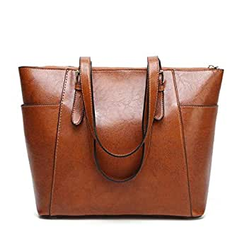 Women's Handbag Genuine Leather Tote Shoulder Bags Soft Hot