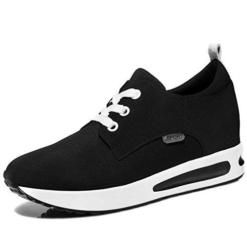 Womens Wedge Sneakers Anti-Slip Platform Hidden Heels Wedge Casual Cushion Shoes