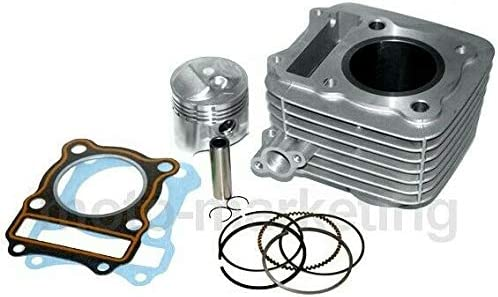 Unbranded 125 CC Cylindre Haut Moteur Piston Complet KIT pour Suzuki GN125 GN 93-02 4T AC