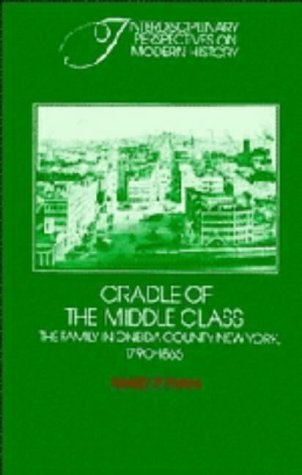 Cradle of the Middle Class: The Family in Oneida County, New York, 1790-1865 (Interdisciplinary Perspectives on Modern H