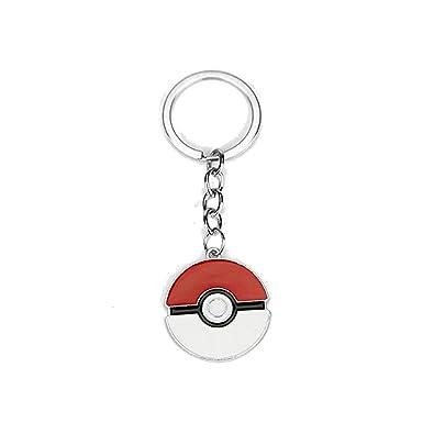 CARINGA-Llavero Pokeball Pokemon llaves: Amazon.es: Joyería