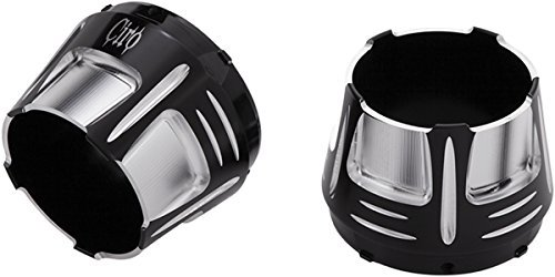 Dual Megaphone Slip (Ciro 31210 Diffuser End Cap (Black For 4