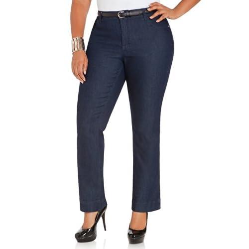 2ec0e07da36 lovely Ashley Stewart Women s Plus Size AVG INDIGO BOOTCUT - Size ...
