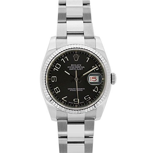 Rolex Datejust automatic-self-wind mens Watch 116234 (Certified Pre-owned) by Rolex (Image #5)
