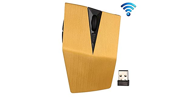 Black High Tech LYX 2.4GHz USB Receiver Adjustable 1200 DPI Wireless Optical Mouse for Computer PC Laptop Color : Yellow