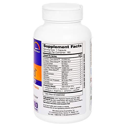 Enzymedica - Digest Gold + Probiotics, Advanced Digestive Enzymes + Probiotics for Essential Digest Care, 180 Capsules (FFP) by Enzymedica (Image #3)