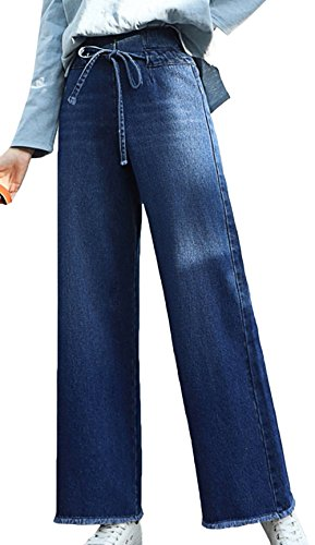 Amplaue Jeans Mesdames, Skinny Jeans Denim Taille Haute Jambires Minces Jean Skinny Crayon Pantalon Crayon Pantalons Denim Jambes Larges Pantalons Longs Jeans dcontracts Blue-b
