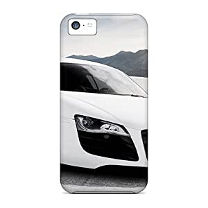 LJF phone case Premium Protection Audi R8 Adv Case Cover For iphone 5/5s- Retail Packaging