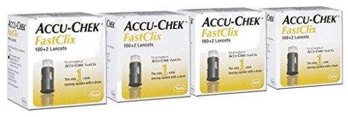 Accu-Chek Fastclix (400+8 Lancets)