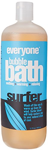 Everyone Natural Bubble Bath, Eucalyptus & Citrus, 20.3 Fl Oz by EO (Image #2)