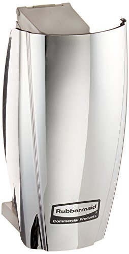 Rubbermaid Commercial Products 1793548 TCell Automated Odor-Controlling Aerosol Air Care System, Fanless, Chrome by Rubbermaid Commercial Products