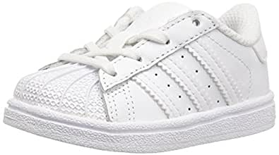 adidas Originals Superstar Foundation C Sneaker (Little Kid ),White/White/White