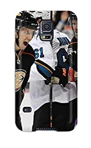 New Style ChristopherMashanHenderson Hard Case Cover For Galaxy S5- Anaheim Ducks (40)
